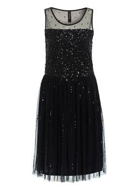 MARCCAIN Kleid mit Paillettenbesatz