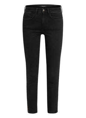 mavi Skinny Jeans ADRIANA mit Perlenbesatz