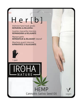IROHA REPAIRING & RELAXING GLOVES HEMP