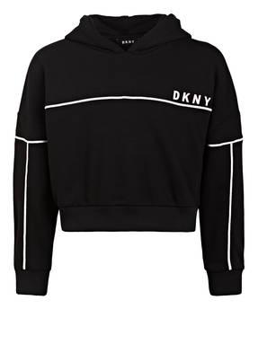 DKNY Cropped-Hoodie