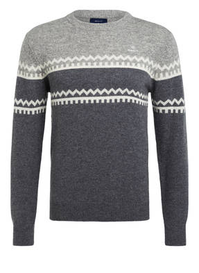 GANT Norweger Pullover HOLIDAY STRIPE