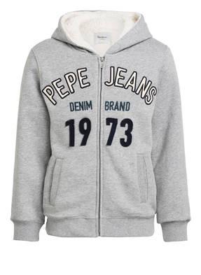 Pepe Jeans Sweatjacke mit Teddyfell