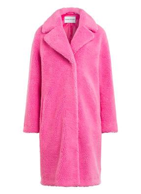 STAND Mantel aus Teddyfell