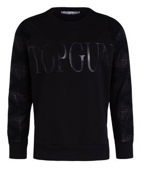 TOP GUN Sweatshirt BLACK SWAN