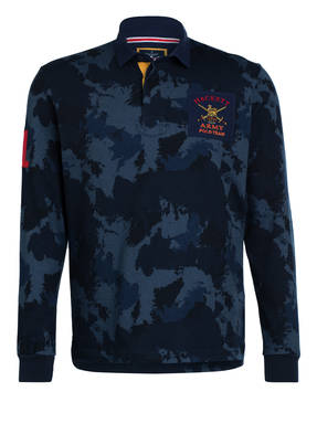 HACKETT LONDON Jersey-Poloshirt ARMY CAMO RBY Classic Fit