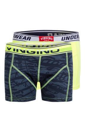 VINGINO 2er-Pack Boxershorts ZEBRA