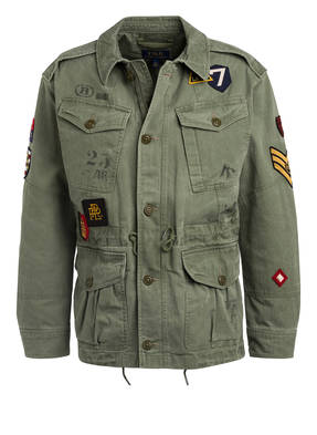 POLO RALPH LAUREN Fieldjacket mit Patches