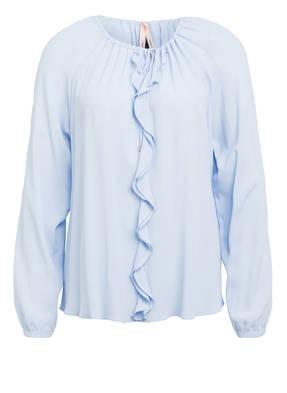 MARCCAIN Bluse mit Seide