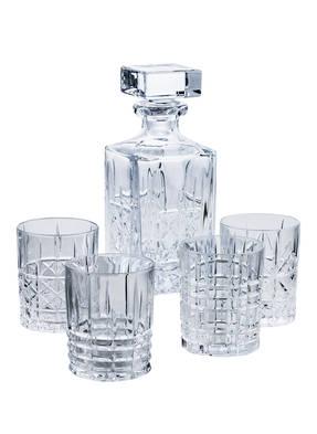 Nachtmann 5-tlg. Whiskey-Set HIGHLAND mit Karaffe und Gläsern