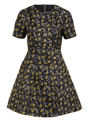 TED BAKER Jaquard-Kleid DIVWINE mit Glitzergarn
