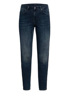 ONE MORE STORY 7/8-Jeans mit Galonstreifen