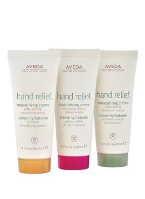 AVEDA HAND RELIEF™ HYDRATION TRAVEL TRIO