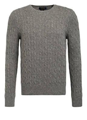 POLO RALPH LAUREN Cashmere-Pullover mit Zopfmuster