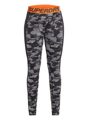 Superdry Funktionswäsche-Hose CARBON