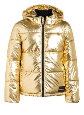 Calvin Klein Jacke mit abnehmbarer Kapuze