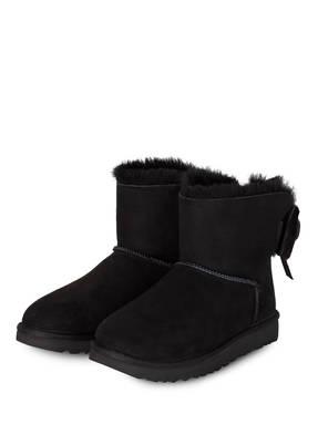 Boots CLASSIC DOUBLE BOW MINImit Schaffellfutter