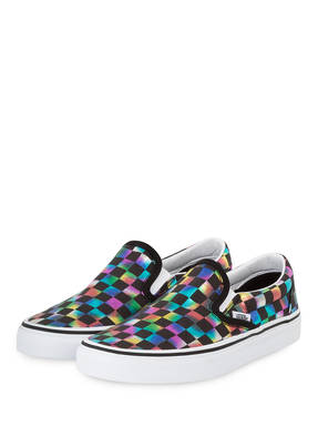 VANS Slip-on-Sneaker IRIDESCENT CHECK CLASSIC