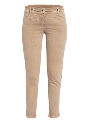 Laurèl Skinny Jeans mit Schmucksteinbesatz