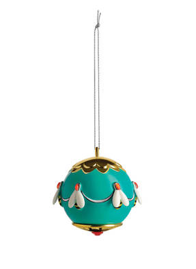 ALESSI Weihnachtskugel APE DELL'ORO