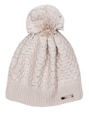 CAPO Mütze PULCINO mit Swarovski Kristallen