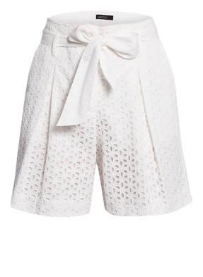 MARCCAIN Paperbag-Shorts aus Lochspitze