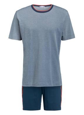 mey Shorty-Schlafanzug SANTA FEE mit Galonstreifen