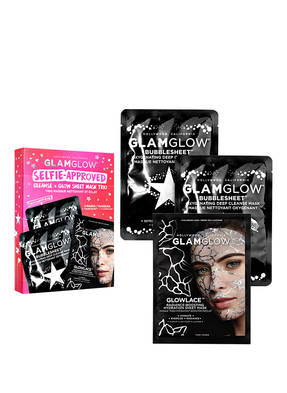 GLAMGLOW SELFIE APPROVED: CLEANSE + GLOW SHEET MASK TRIO