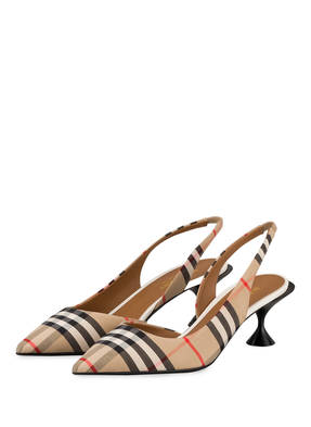 BURBERRY Slingpumps