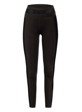 GOLDBERGH Tights SOLDIS mit Galonstreifen