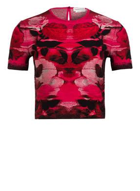ALEXANDER McQUEEN Cropped-Shirt