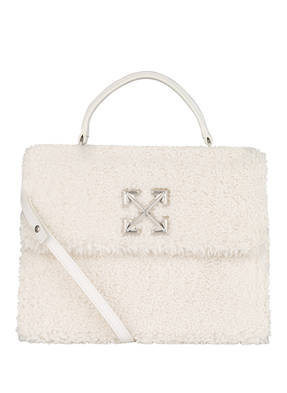 OFF-WHITE Handtasche 2.8 JITNEY mit Echtfellbesatz