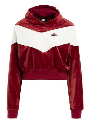 Nike Samt-Hoodie HERITAGE