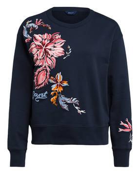 GANT Sweatshirt mit Stickereien
