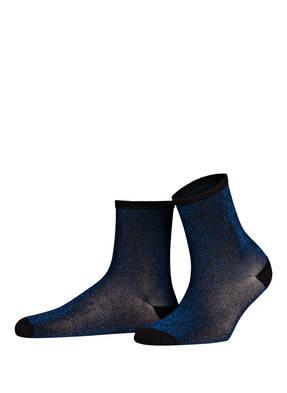 BECK SÖNDERGAARD Socken DINA SOLID mit Glitzergarn