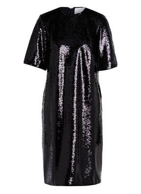 BOSS Kleid DETTIA mit Paillettenbesatz