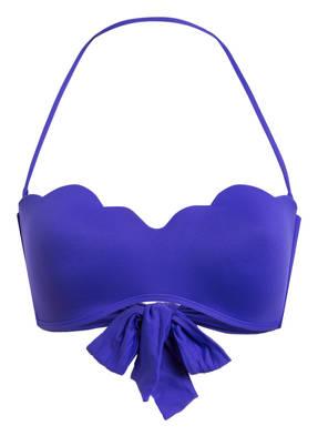 SEAFOLLY Bandeau-Bikini-Top PETAL EDGE