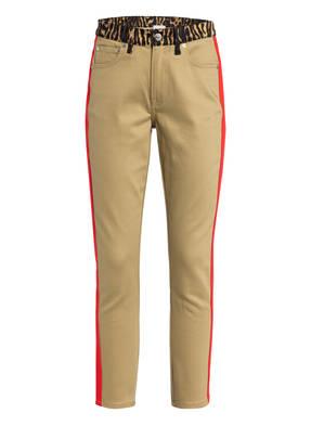 BURBERRY Skinny Jeans GIRVAN mit Galonstreifen