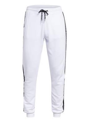 CARLO COLUCCI Sweatpants mit Galonstreifen