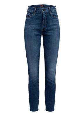 MOTHER 7/8-Jeans THE HIGH WAISTED LOOKER ANKLE FRAY