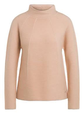 MONARI Damen Pullover mit Nieten Wording und Allover
