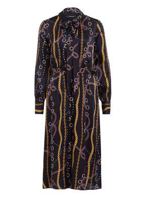 comma Kleid mit Schluppe