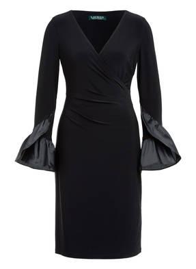 LAUREN RALPH LAUREN Kleid mit Volantbesatz