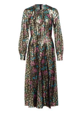 sandro Jacquard-Kleid mit Glitzergarn