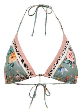 watercult Triangel-Bikini-Top BOHO BLOSSOM
