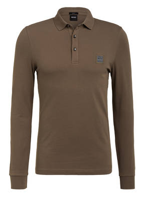 BOSS Piqué-Poloshirt PASSERBY Slim Fit