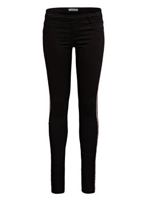 name it Jeans Skinny Fit mit Galonstreifen