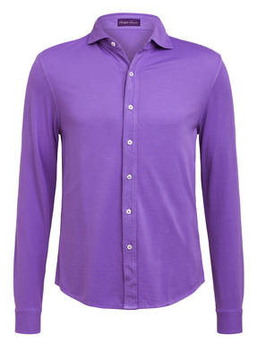 RALPH LAUREN PURPLE LABEL Piqué-Hemd Slim Fit
