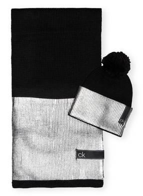 Calvin Klein Set LAMINA Schal und Mütze in Geschenkbox
