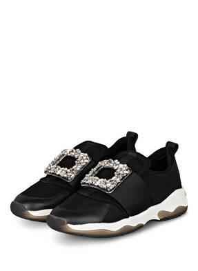 KURT GEIGER Slip-on-Sneaker LUCIA mit Schmucksteinbesatz