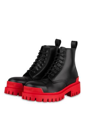 BALENCIAGA Plateau-Boots STRIKE